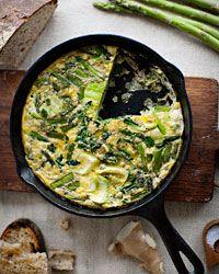 Asparagus and Bok-Choy Frittata Recipe on Food & Wine