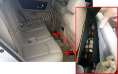 Cadillac SRX (2004-2009) fuses and relays
