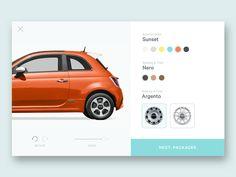 Car Customization Tool by Keaton Price - Dribbble