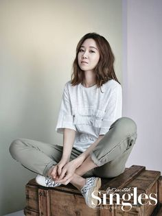 Gong Hyo Jin • Gong Hyo Jin in Singles Korea May Issue [PART 2]
