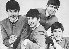 The Beatles from Liverpool, England were the rage.  All the girls were in love with them.