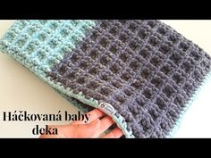 In this tutorial I will show you how to crochet EASY and QUICK soft crochet baby blanket and how to crochet waffle stitch but it will be little dif. Crochet Afghans, Baby Blanket Crochet, Easy Crochet, Crochet Stitches, Crochet Hooks, Crochet Baby, Crochet Blankets, Crochet Waffle Stitch, Crochet Videos