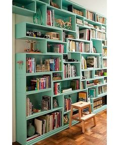 ONE FOR THE BOOKWORMS: 10 OF THE BEST BOOKSHELVES COURTESY OF PINTEREST