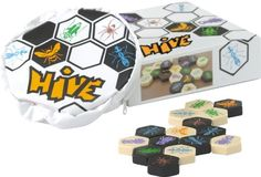 Hive – The Original – Made by Gen42 Games – Honoured for excellence by Mensa Select. Dr. Toy Product of Excellence award winner. International Gamer awards winner. - http://geekarmory.com/hive-the-original/