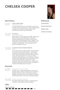 Resident Care Aide Sample Resume Home Health Samples