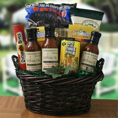 Grilling gift basket is what to get your boss