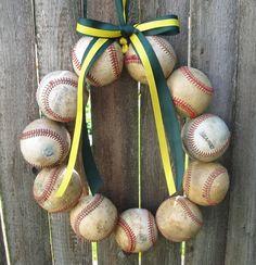 The Original Oakland Athletics Baseball by BabyToesbyChristy, $43.00