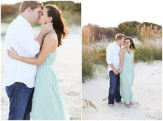 What to wear to an engagement session on the Beach, tiffany blue maxi dress, Beach engagement Beach Engagement Photos, Engagement Photo Outfits, Engagement Session, Engagement Ideas, Selfies, Cute Couples Photos, Couple Photos, Make Photo, Couple Posing