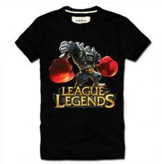 League of Legends LOL Boom Boom Blitzcrank Short Sleeve Cotton T-Shirt I - See more at: http://www.lolamz.com/league-of-legends-lol-boom-boom-blitzcrank-short-sleeve-cotton-tshirt-i-p-2336.html#sthash.Ue4tdpcH.dpuf