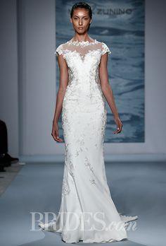 Brides.com: Mark Zunino for Kleinfeld - Fall 2015 Wedding dress by Mark ZuninoPhoto: Thomas Iannaccone