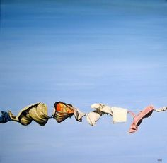 """Clothesline"" (2010) Heather Horton"