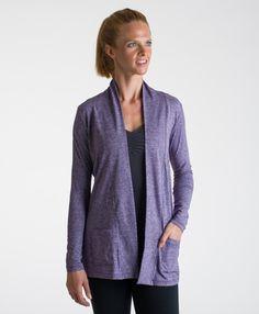 15love Jersey Cardigan Women's Sportswear http://15loveapparel.com/