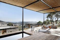 Modern Finishes Meet Traditional Stone in Resort Villas in Turkey