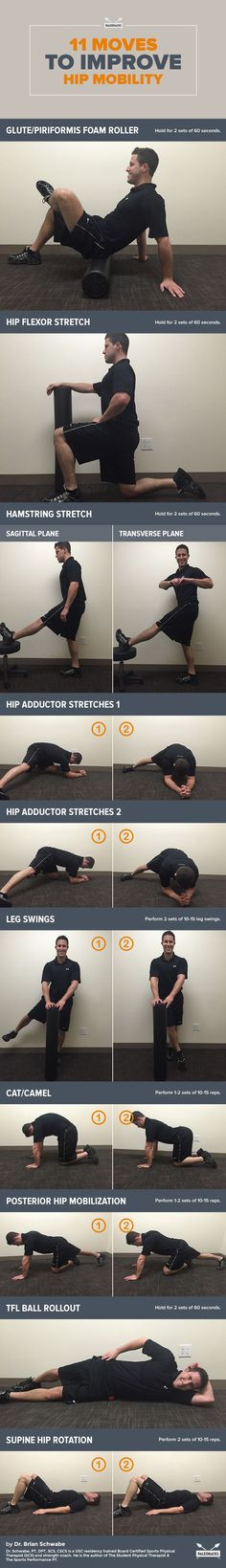 If you think hip flexibility is only important when you're doing Zumba, think again! The muscles around our hips are the basis for most of our entire body's mobility. For the full workout visit us at: http://paleo.co/HipMobilityMove #paleohacks #paleo