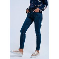 Super skinny push-up jeans  ||  Super skinny jeans in elastic denim. 7/8 cut. It has 5 functional pockets and concealed zip closure. There are back stitching rounded at the top of the buttocks https://www.mymallmetro.com/products/super-skinny-push-up-jeans?utm_campaign=crowdfire&utm_content=crowdfire&utm_medium=social&utm_source=pinterest