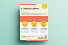 Creative Corporate Flyer V16 by KhidD on Creative Market