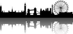 london skyline silhouette - חיפוש ב-Google