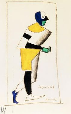 Kasimir Malewitsch - Malevich / The Athlete
