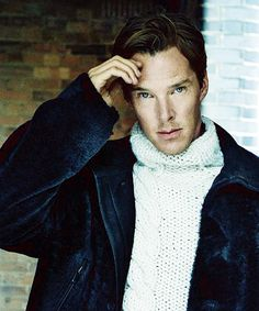 Benedict Cumberbatch, ELLE UK, december 2014.