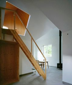 Lean In: Plywood Lined Attic with Interesting Angles