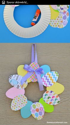 Food Crafts, Crafts To Do, Crafts For Kids, Diy Crafts, Easter Projects, Easter Crafts, T Craft, Sensory Activities Toddlers, School Holidays