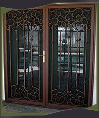 Decorative Security Screen Doors mcm screen door - google search | front entry | pinterest | front