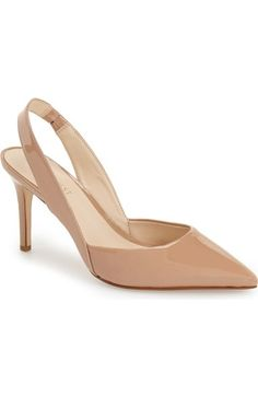 8412e2b9189 Free shipping and returns on Nine West  Rollover  Slingback Pump (Women) at