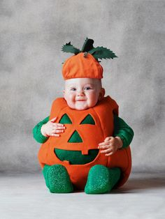 Halloween ~ Halloween Costume Ideas For Babies Cute Baby Costumes Boys Girls Awesome Cute Baby Halloween Costumes. Cute Baby Halloween Costumes For Girls. Cute Baby Halloween Costumes For Boys. Diy Baby Halloween Costumes, Primer Halloween, Baby Pumpkin Costume, Halloween Zombie, Toddler Costumes, Baby In Pumpkin, Baby Costumes, Halloween Outfits, Halloween Kids