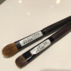 #yojiya eyeshadow  Itachi left and tamage
