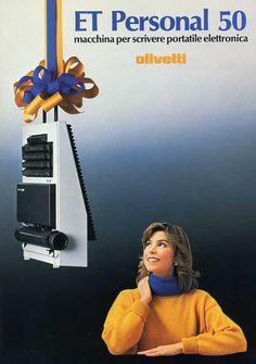 Olivetti ET Personal 50, Mario Bellini, 1985