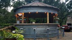 Grain Bin~bar/outdoor kitchen