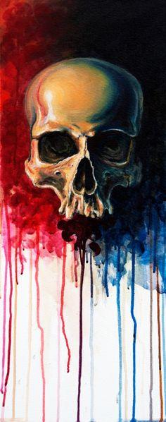 David Kraif Skull Art                                                                                                                                                                                 More