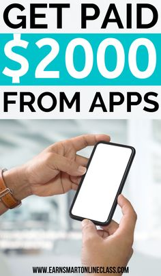 Searching for money-making ideas to earn some extra cash? You can get this list of the highest paying apps to make money for free. They are legit and won't take much of your time. Work From Home Careers, Work From Home Companies, Legitimate Work From Home, Work From Home Opportunities, Work From Home Moms, Earn Money From Home, Earn Money Online, Way To Make Money, How To Make