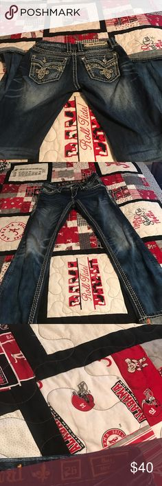 Rock Revival-size 26 only worn few times Rock Revival Jeans Straight Leg