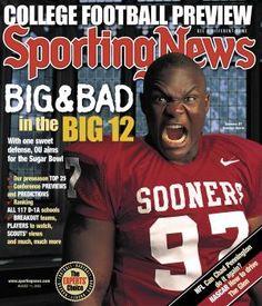 Oklahoma Sooners DT Tommie Harris - August 11, 2003