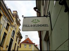 ANNINA IN TALLINNA: Till & Kummel