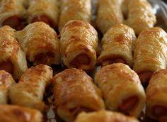 Virsli tésztában ✓✓✓ A legjobb receptek egy helyen, hogy ne kelljen azon gondolkodnod, mit főzz ma. ::: Receptek-Lapja.COM