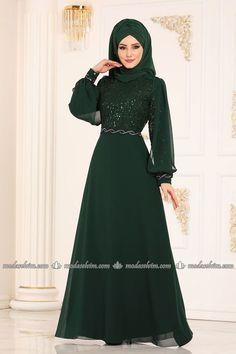Elegant Dresses For Women, Formal Dresses, The Dress, Dress Skirt, Hijab Fashion, Fashion Dresses, Beautiful Muslim Women, Hijab Dress, Chic
