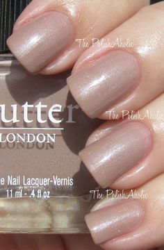 Best Nail Polish Color: Butter London in Yummy Mummy