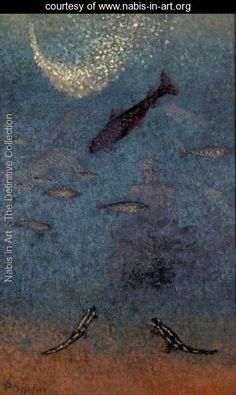 The Submerged Buddha, c.1910 - Paul Serusier -