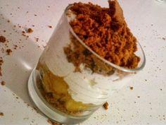 Se régaler avec thermomix : Verrines de pommes à la crème de spéculos