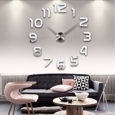 Fair price 2017 New Acrylic Mirror Diy Wall Clock Watch Wall Stickers Reloj De Pared Horloge Large Decorative Quartz Clocks  Modern Design just only $8.50 - 14.50 with free shipping worldwide  #clocks Plese click on picture to see our special price for you