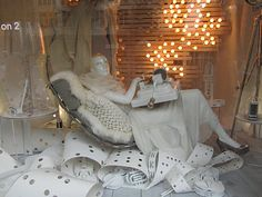 My Soul Is Raining Clothes: Window Displays: Selfridges vs. Liberty at Christmas