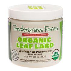 Amazon.com : Organic Leaf Lard : Grocery & Gourmet Food