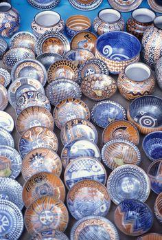 The Chichipan Family from Tzintzuntzan Michoacan makes beautiful high temperature ceramics. Here's a small sample of their work