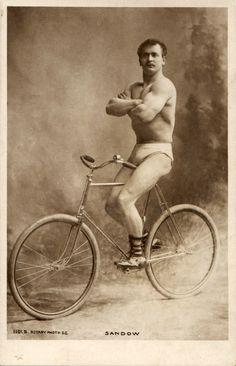 Strongman Eugen Sandow, circa 1900 via boobob92