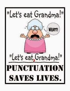 Punctuation Saves Lives Poster is part of Secondary classroom - Shop Punctuation Saves Lives Poster created by tetitator Personalize it with photos & text or purchase as is! Teacher Humor, School Teacher, Grammar Jokes, Grammar Posters, Funny Quotes, Funny Memes, Funny Cartoons, Funny Comics, Hilarious