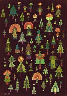 trees Matt Lyon
