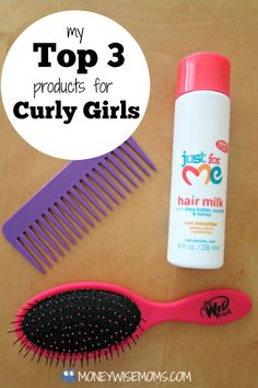 Do you have Curly Girls like me? I share the tips, products & techniques that work on my twin daughters' curly hair