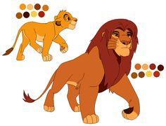 Troll Berserker © The Lion King Lion King Series, The Lion King 1994, Lion King Fan Art, Lion King Movie, Disney Lion King, Big Cats Art, Cat Art, Character Model Sheet, Character Design